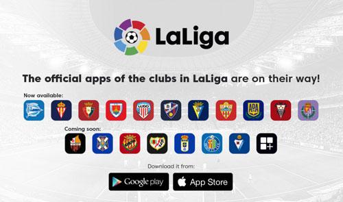 LaLiga Apps Logo