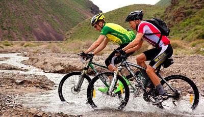 Himalaya biking race