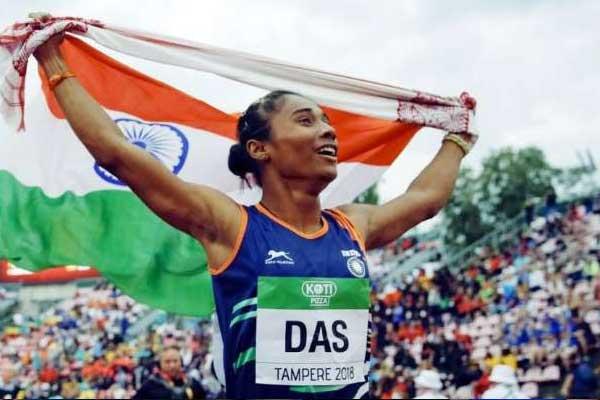 Indian Athlete Hima Das
