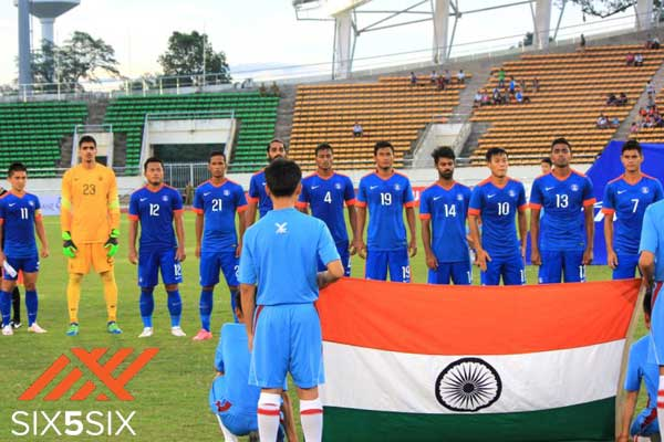 reputable site 4e116 79b34 Six5Six to sponsor kits for Indian national football team