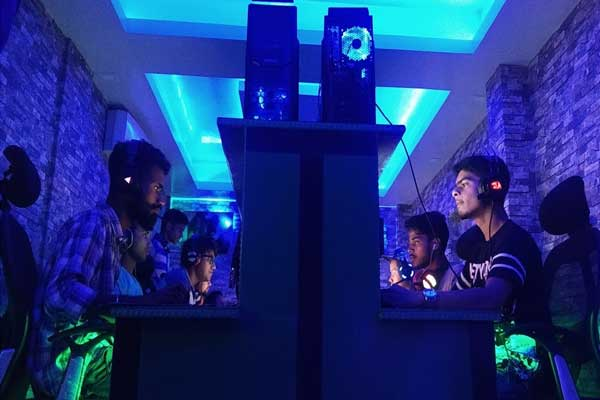 Gaming Cafes