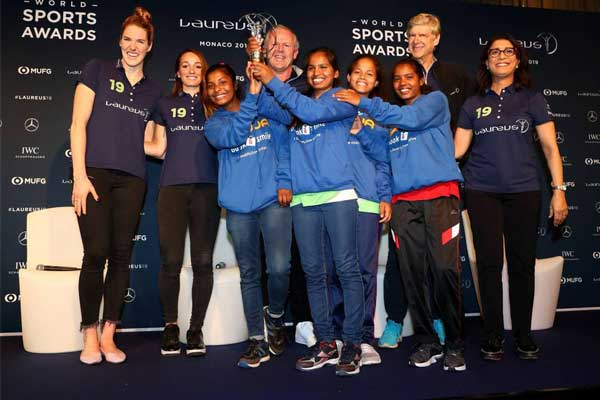 Laureus Sport of Good award