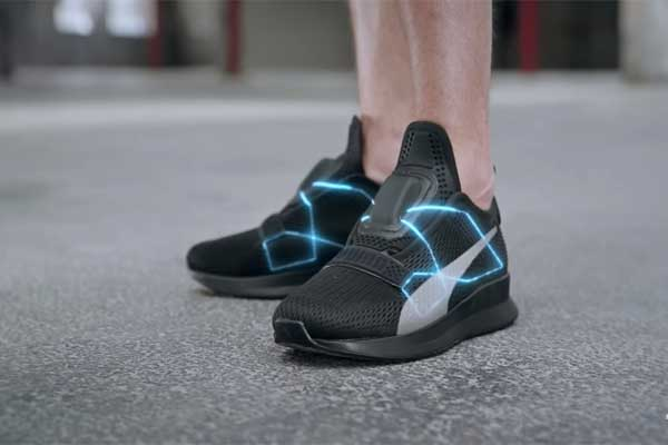 wholesale dealer 9560a 8de6d Puma introduces up self-lacing sneaker Fi to compete Nike Adapt BB