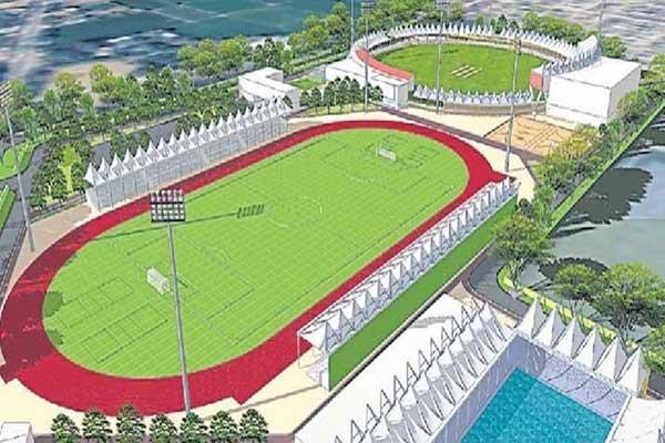 Ultra-Modern Sports Complex