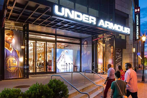 under armour store in india