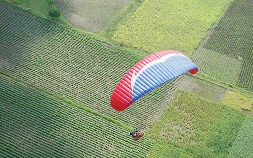 Paragliding in Goa