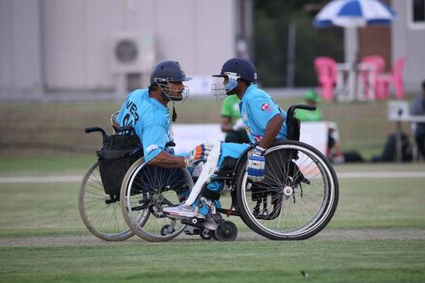 Indian wheelchair cricket
