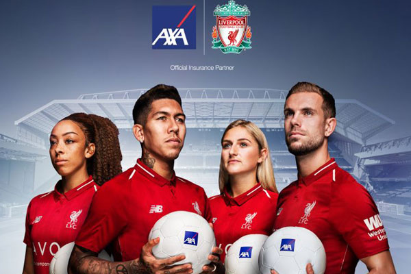 Liverpool FC and AXA