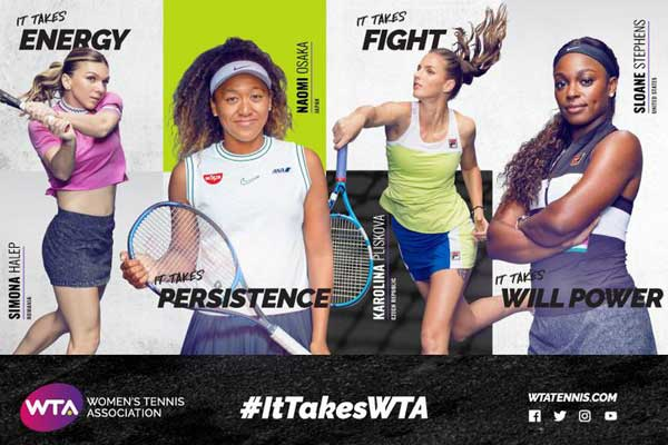 Women Tennis Association global marketing campaign