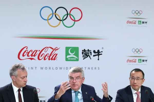 Coca-Cola and IOC