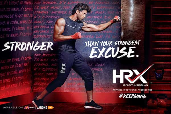 HRX by Hrithik Roshan