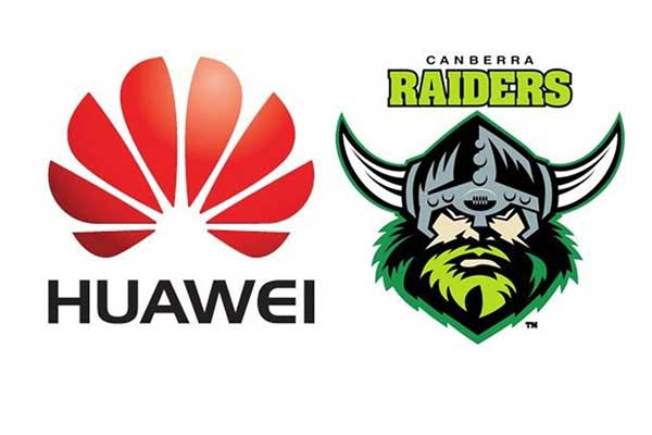 Huawei and canberra raiders