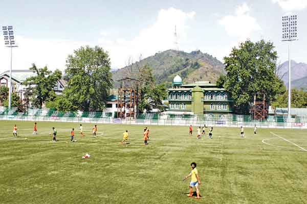 JK Footballers TRC Ground