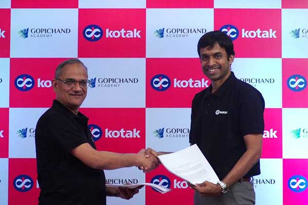 Kotak Mahindra and Gopichand