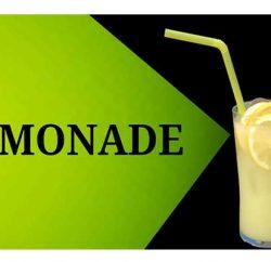 Lemonade in summer