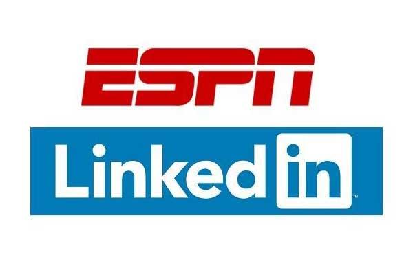 Linkedin and ESPN