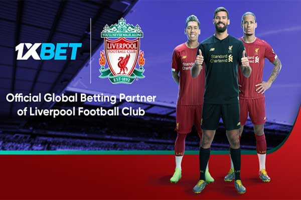1XBET and Liverpool