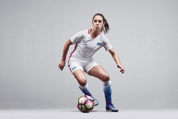 American women footballers
