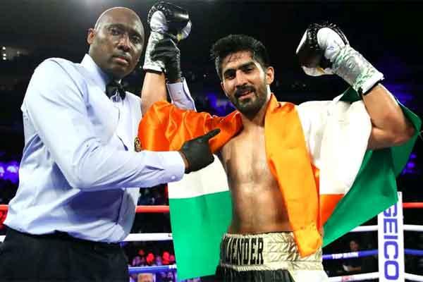 Indian boxing star, Vijender Singh