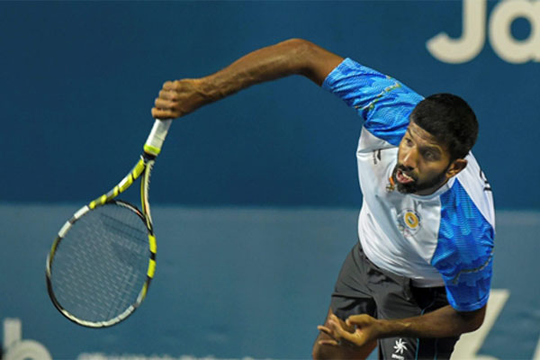 Indian tennis team in Pakistan