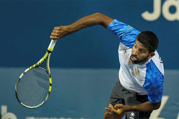 Indian tennis team in Pakistan