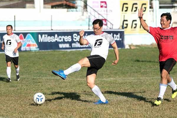 Kiren Rijiju from sports ministry