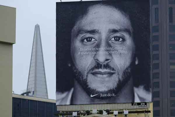 Nike and Colin kaepernick