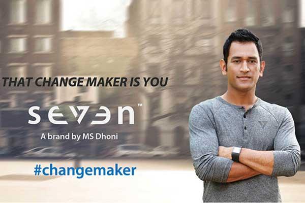 Seven brand MS Dhoni