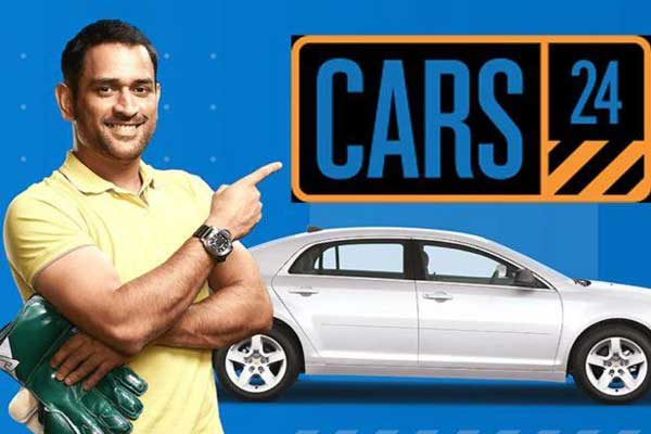 Cars24 and ms dhoni