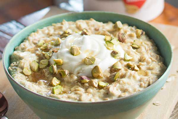 Greek Yogurt with oats meal