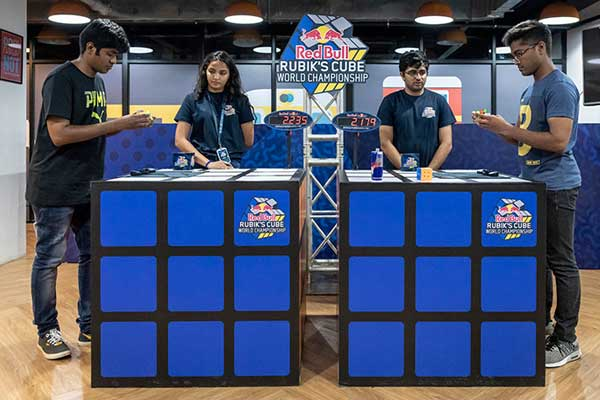 Red Bull Rubiks Cube World Championship - India Qualifiers
