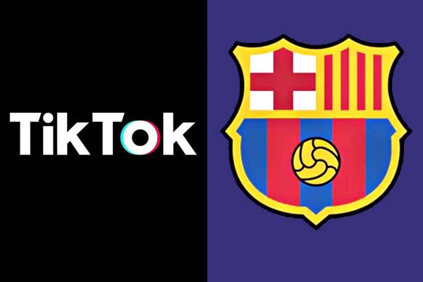 Tittok and FC Barcelona