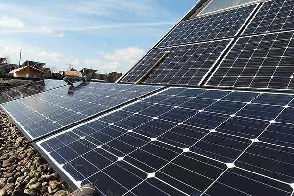 solar array at Ashton Gate