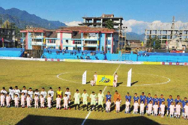 Sub-junior football tournament
