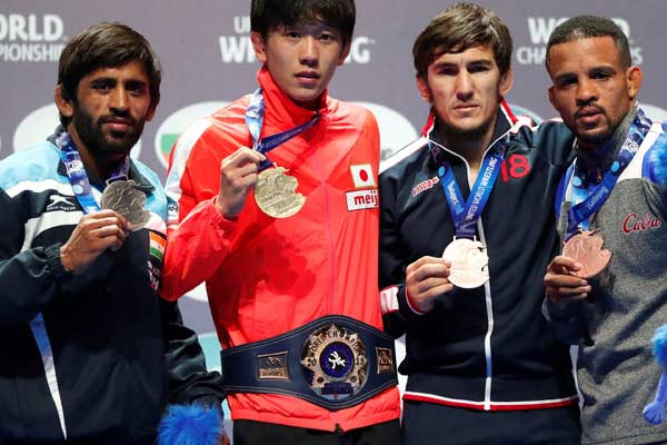 bajrang world championshi