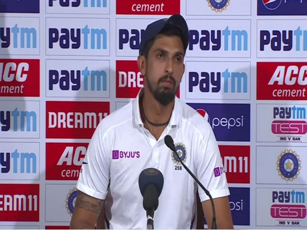 Indian pacer Ishant Sharma