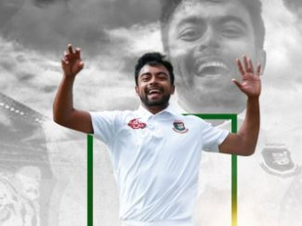 Bangladesh's Abu Jayed (Photo/ Bangladesh Cricket Twitter)