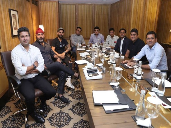 The All India Senior Selection Committee met in Kolkata on Thursday to pick the squads for the upcoming tour against West Indies. (Photo/ BCCI Twitter)