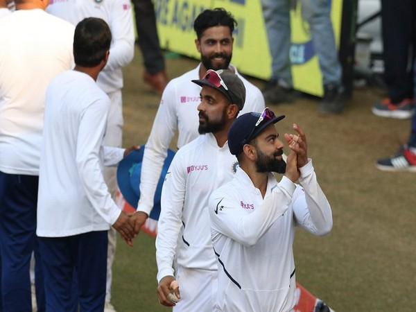 Skipper Virat Kohli and team (Photo/BCCI Twitter)