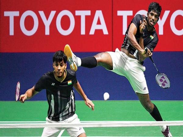 Satwisairaj Rankireddy and Chirag Shetty (Photo/BAI Media Twitter)