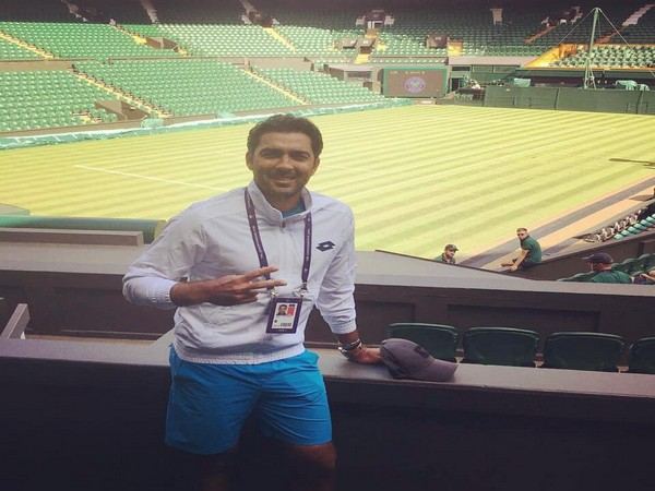 Pakistan tennis player Aisam ul Haq Qureshi (Photo/ Aisam ul Haq Qureshi Twitter)