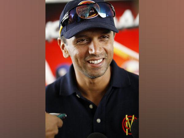 Former cricketer Rahul Dravid