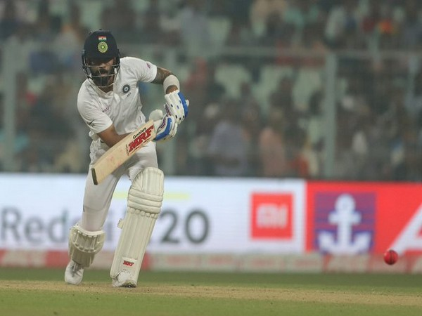 Indian skipper Virat Kohli in action against Bangladesh (Photo/ BCCI Twitter)