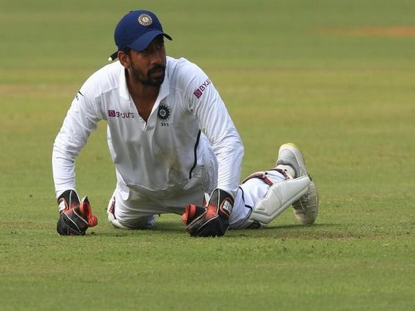Indian wicket-keeper batsman Wriddhiman Saha (Photo/ ICC Twitter)