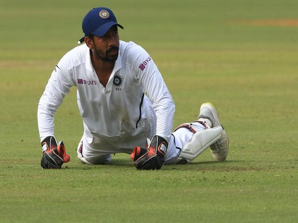 Wicket-keeper batsman Wriddhiman Saha (Photo/ ICC Twitter)