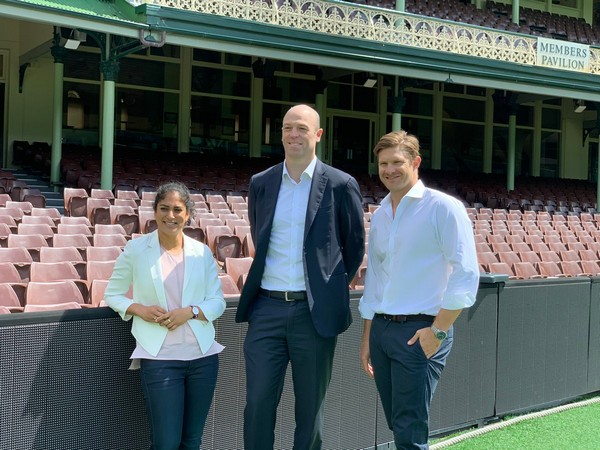 Shane Watson and Lisa Sthalekar after being inducted into Australian Cricketers Association Board (Photo/ Shane Watson Twitter)