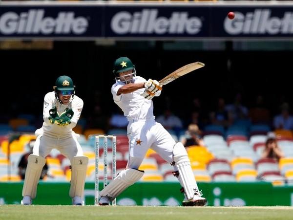 Pakistan's Babar Azam in action against Australia (Photo/ cricket.com.au Twitter)