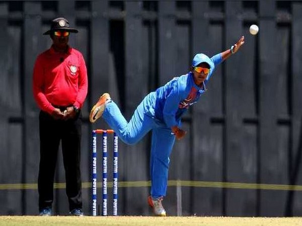 With this victory, India have gained a 4-0 lead in the five-match series. (Photo/ BCCI Women Twitter)