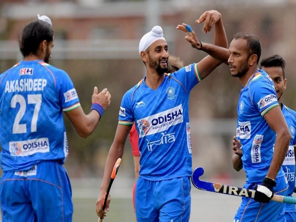 The second leg of the qualifiers between both teams will take place on November 2. (Photo/ Hockey India Twitter)