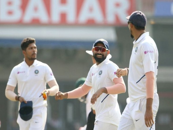 India defeated Bangladesh by an innings and 130 runs on the third day of the first Test match here on Saturday. (Photo/ BCCI Twitter)
